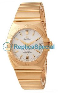 Omega Constellation 1190.70.00 18k Yellow Gold Case Polygon 18k gult guld Bralecet Watch