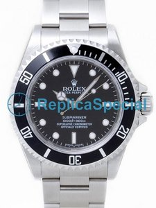 Rolex Submariner 14060 Stainless Steel Oyster Bracelet Bralecet Black Dial Mens Watch